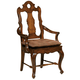Hekman Rue de Bac Arm Chair in Cognac (Set of 2) 8-7224