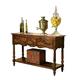 Hekman Rue de Bac Pastry Table in Cognac 8-7229