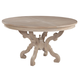 Hekman Sutton's Bay Baroque Round Dining Table in Driftwood 1-4121
