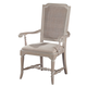 Hekman Sutton's Bay Slat Back Arm Chair in Driftwood (Set of 2) 1-4122