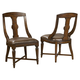 Hekman Havana Side Chair in Antique (Set of 2) 8-1231