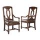 Hekman Havana Arm Chair in Antique (Set of 2) 8-1235