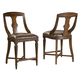 Hekman Havana Pub Chair in Antique (Set of 2) 8-1232