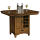 Hekman Arts & Crafts Pub Storage Table in Mission Pointe 8-4034