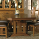 Hekman Arts & Crafts 5 Piece Trestle Dining Set in Mission Pointe