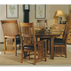 Hekman Arts & Crafts 7 Piece Reunion Dining Set in Mission Pointe