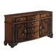 Crown Mark Neo Renaissance Buffet in Warm Brown 2400B
