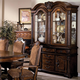Crown Mark Neo Renaissance Buffet with Hutch in Warm Brown 2400BH