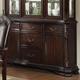 Crown Mark Kiera Buffet in Warm Brown 2150B