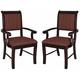 Crown Mark Merlot Dining Arm Chair 2146A