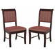Crown Mark Merlot Dining Side Chair 2146S