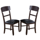 Crown Mark Conner Dining Chair in Espresso 2249S-24