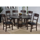 Crown Mark Conner 7pc Dining Set in Espresso