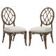 Tommy Bahama Bali Hai Cedar Key Oval Back Side Chair (Set of 2) 593-886-01