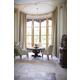 Bernhardt Villa Medici 5pc Round Dining Room Set in Warm Chestnut