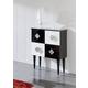 ESF Furniture Coco W-100 Buffet in Black