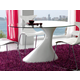 ESF Furniture Majorka 5-Piece Dining Room Set in White