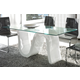 ESF Furniture Wave DT04 Dining Table in White