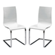 ESF Furniture Wave CH-1003 Chair in White