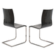 ESF Furniture Wave CH-1003 Chair in Black