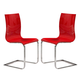 ESF Furniture Wave CH-1003 Chair in Red