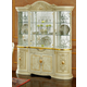 ESF Furniture Leonardo 4-Door China in Ivory