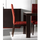 ESF Furniture Ada Chair in Red/Wenge (Set of 2)