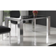 ESF Furniture Leidy Dining Table w/ Extension in Black