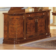 ESF Furniture Milady 4-Door Buffet in Walnut
