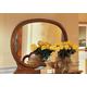 ESF Furniture Milady Buffet Mirror in Walnut