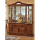 ESF Furniture Milady 4-Door China in Walnut