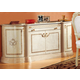 ESF Furniture Rosella 4-Door Buffet in Ivory