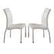ESF Furniture 365 Chair in White (Set of 2)