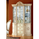 ESF Furniture Rosella 3-Door China in Ivory