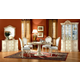 ESF Furniture Rosella 5pcs Dining Room Set in Ivory