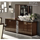 ESF Furniture Roma 4-Door Buffet in Walnut