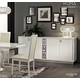 ESF Furniture Roma 4-Door Buffet in White
