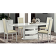 ESF Furniture Roma Dining Table in White
