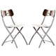 ESF Furniture 3147 Chair in Wenge White
