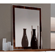 ESF Furniture Capri Buffet Mirror in Dark Walnut