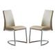 ESF Furniture 6101 Chair in Beige (Set of 2)