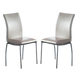 ESF Furniture 8040 Chair in Light Gray (Set of 2)