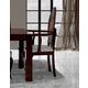 ESF Furniture Carmen Arm Chair in Walnut (Set of 2)