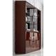 ESF Furniture Carmen 4-Door China in Walnut