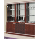 ESF Furniture Status Caprice 3 Door China in Walnut