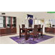 ESF Furniture Status Caprice 7pcs Dining Room Set in Walnut