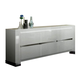 ESF Furniture Elegance 3 Door Buffet in White