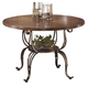 Plentywood Round Dining Table in Brown