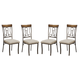 Hopstand Dining Upholstered Side Chair (Set of 4) in Brown D314-01