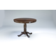 Leahlyn Round Dining Table in Medium Brown